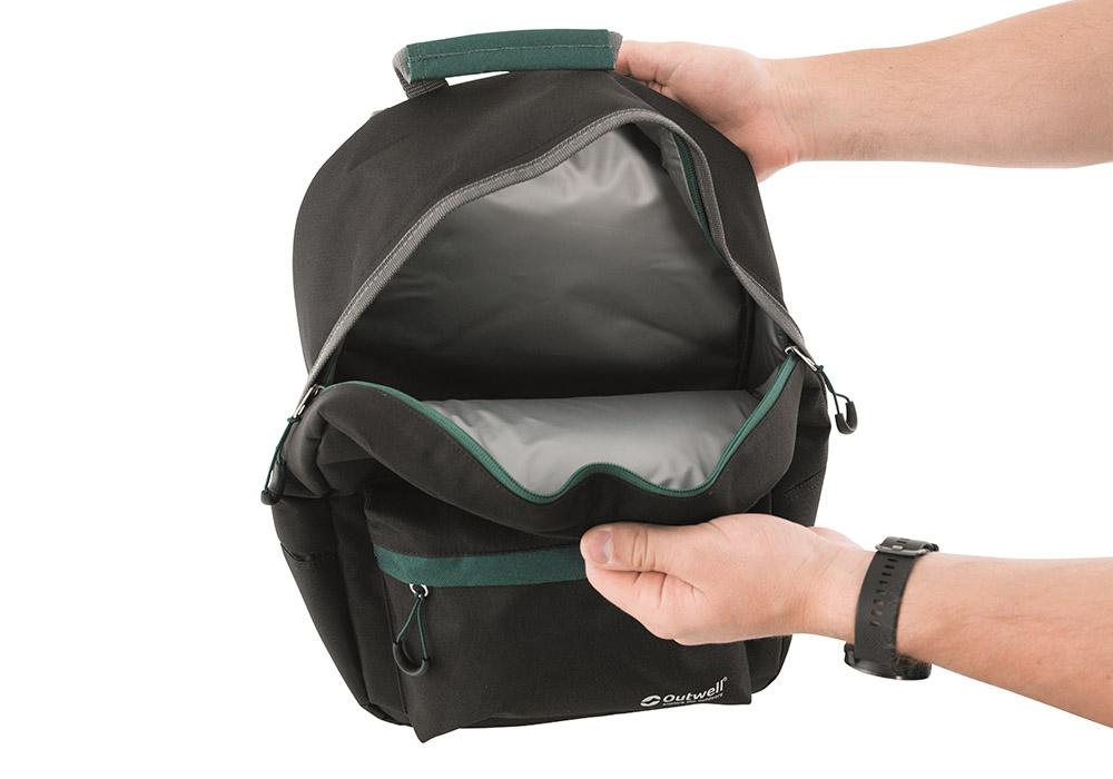 Вътрешност на хладилна раница Outwell Cormorant Backpack Black 2020
