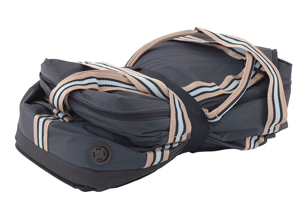 Сгъната мека самонадуваема хладилна чанта Outwell Pelican L Navy Night 30L 2021