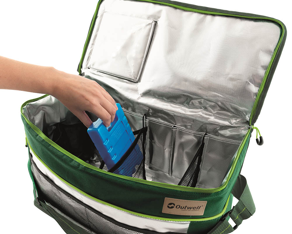 Изолация фолио във вътрешността меки хладилни чанти Outwell серия Shearwater