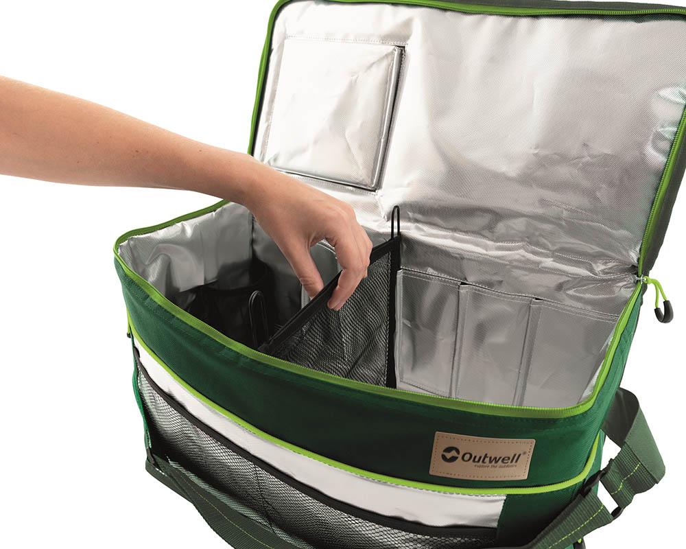 Странични мрежести джобове меки хладилни чанти Outwell серия Shearwater