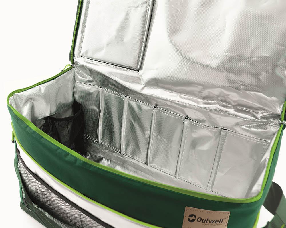 Детайли вътрешност меки хладилни чанти Outwell серия Shearwater