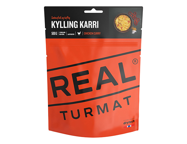 REAL Turmat Chicken Curry - 500g