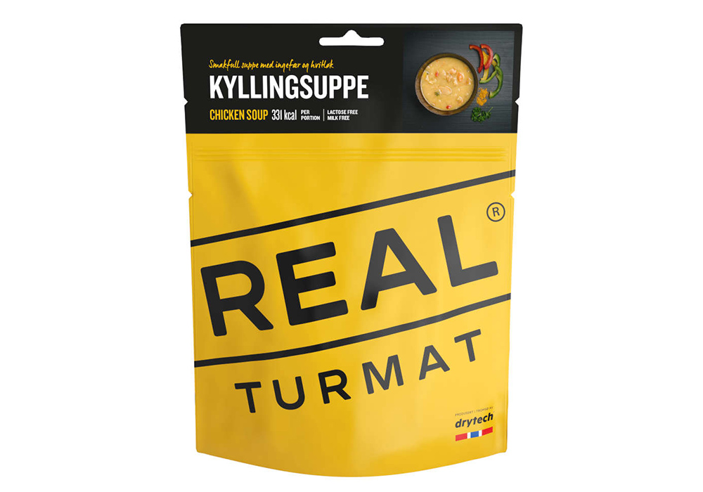 Пилешка супа REAL Turmat Chicken Soup  - 370g