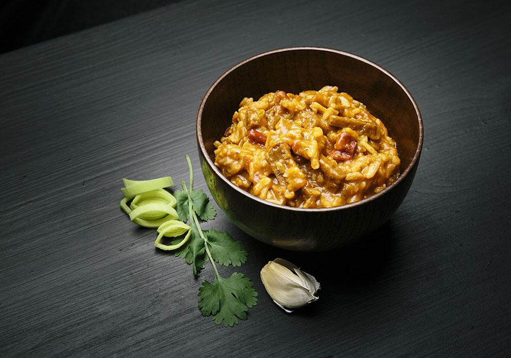 Пикантно пилешко с ориз и зеленчуци REAL Turmat Kebab Stew - 500g