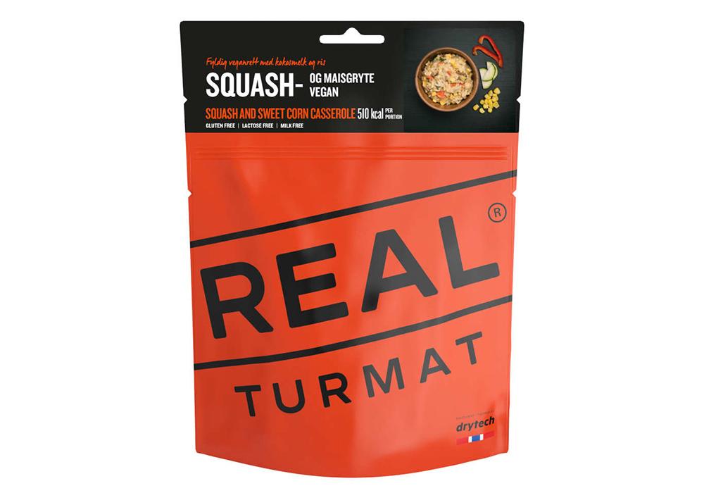 Яхния от тиква и сладка царевица REAL Turmat Sqash and Sweet Corn Casserole - 460g