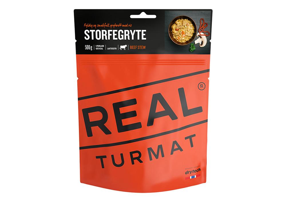 Телешко задушено REAL Turmat Beef Stew - 500g