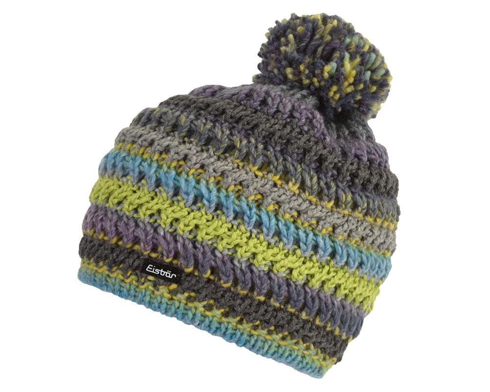 Зимна плетена шапка Eisbär Alessia Pompon MÜ