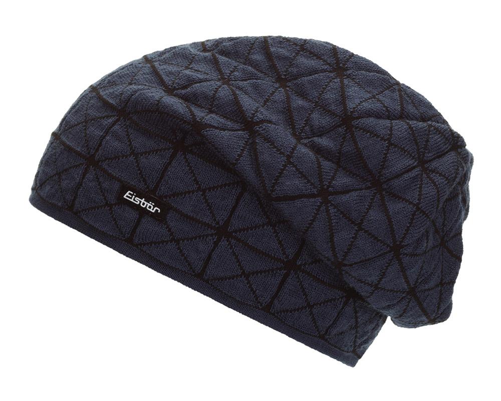 Зимна плетена шапка Eisbär Julius MÜ Blue