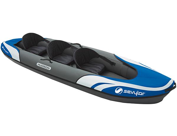 Sevylor Hudson Inflatable Kayak 2+1
