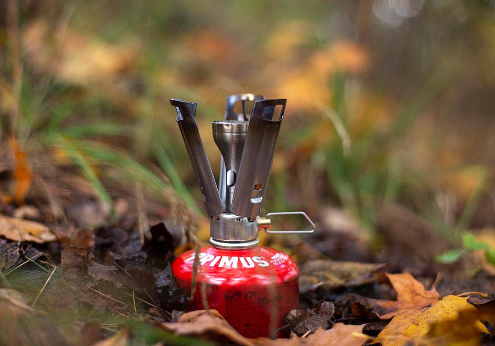 Сред природата туристически газов котлон Primus Firestick Ti Stove 2020