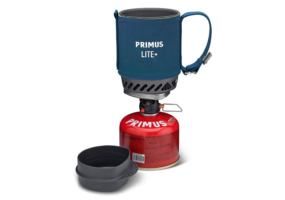 Отворен капак на система за готвене Primus Lite Plus Stove System Blue 2021
