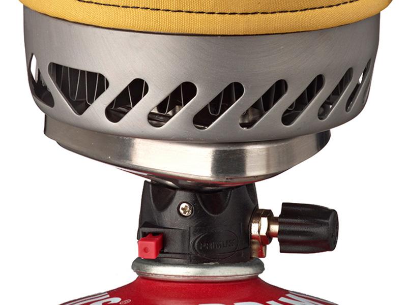 Изключително ефективен топлообмен между котлона и канчето
