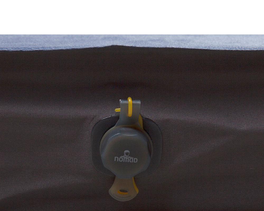Вентил на двойна самонадуваема постелка Nomad Dreamzone Duo 10.0 см