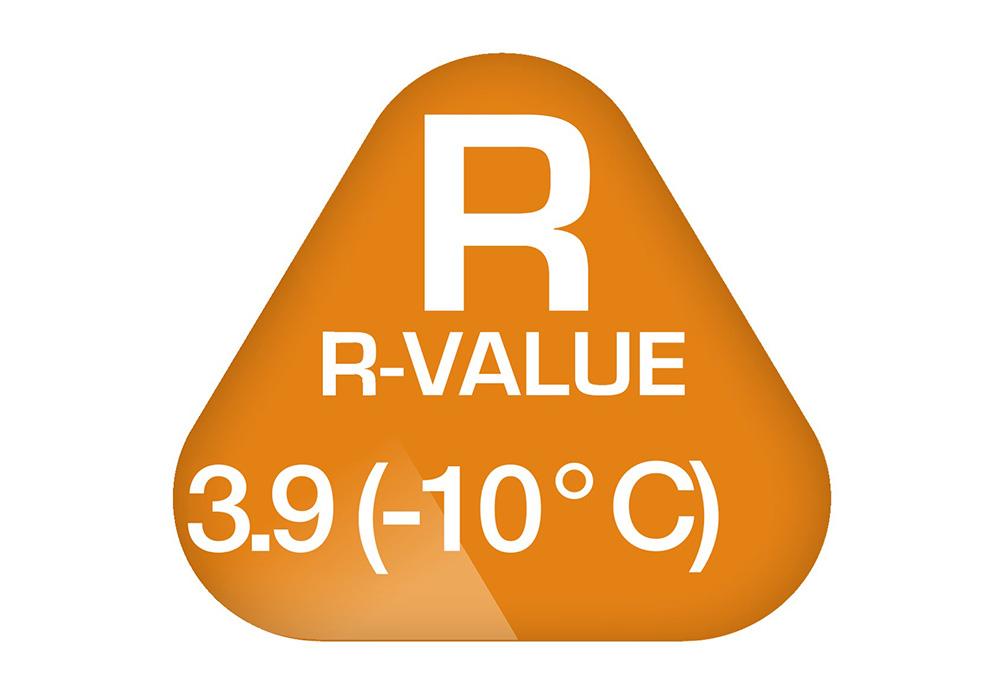 Температурна граница на самонадуваема постелка 4.0 см Robens FjellGuard 40 2019