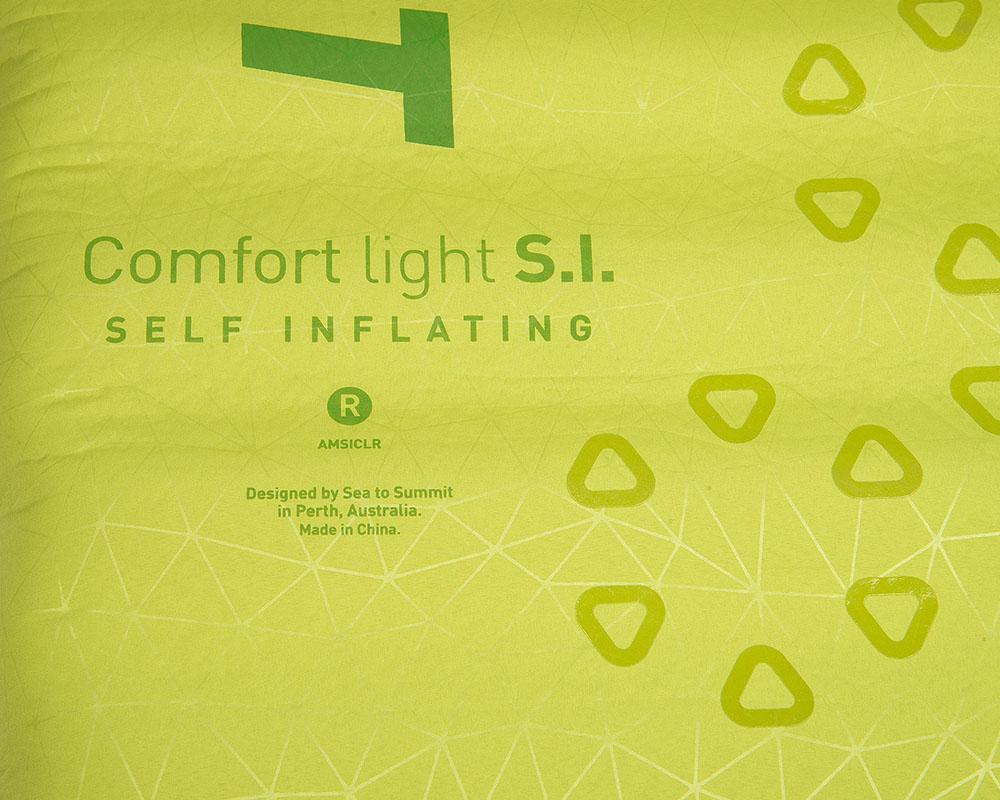 Здрава и олекотена външна обвивка туристическа постелка Sea to Summit Comfort Light