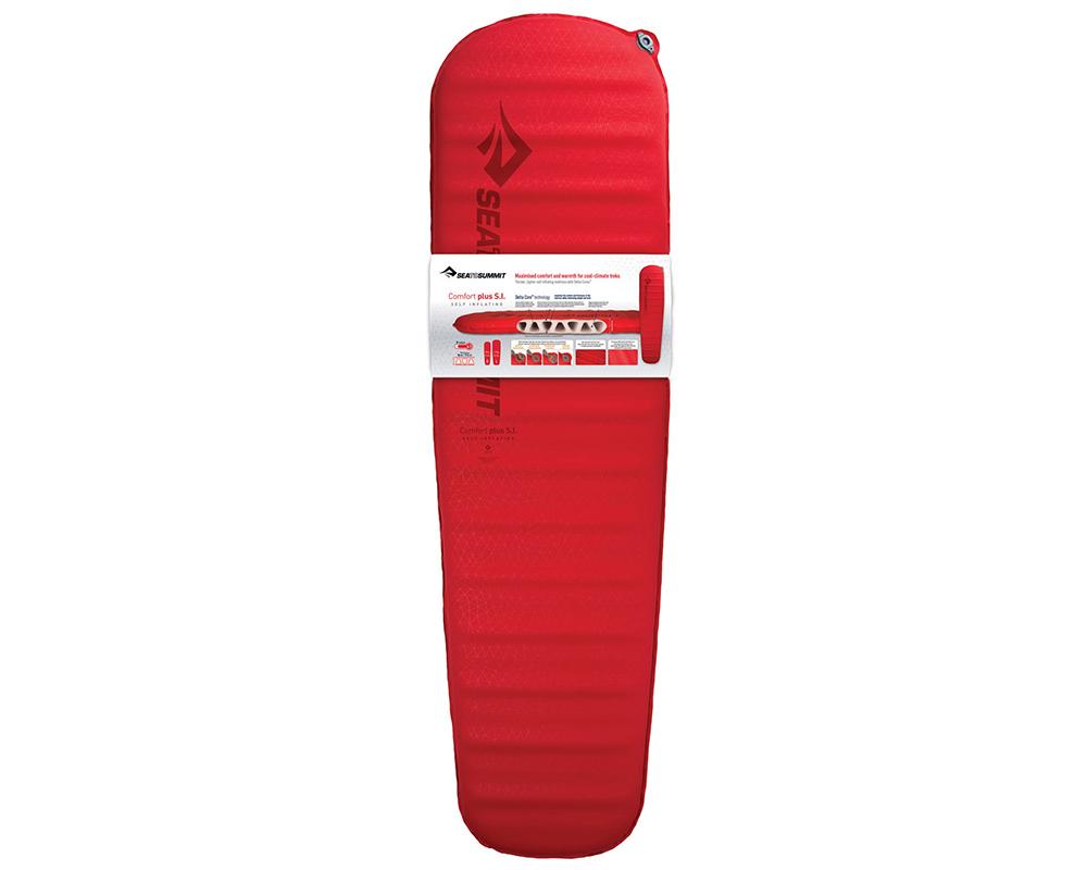 Отлична изолация и комфортна основа за спане самонадуваема постелка 8.0 см Sea to Summit Comfort Plus Large