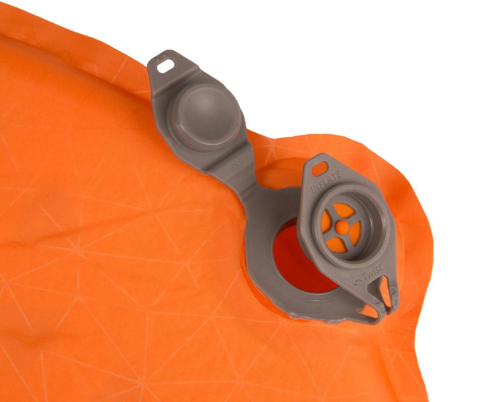 Изцяло отворен двоен вентил самонадуваема постелка 8.0 см Sea to Summit Comfort Plus Large