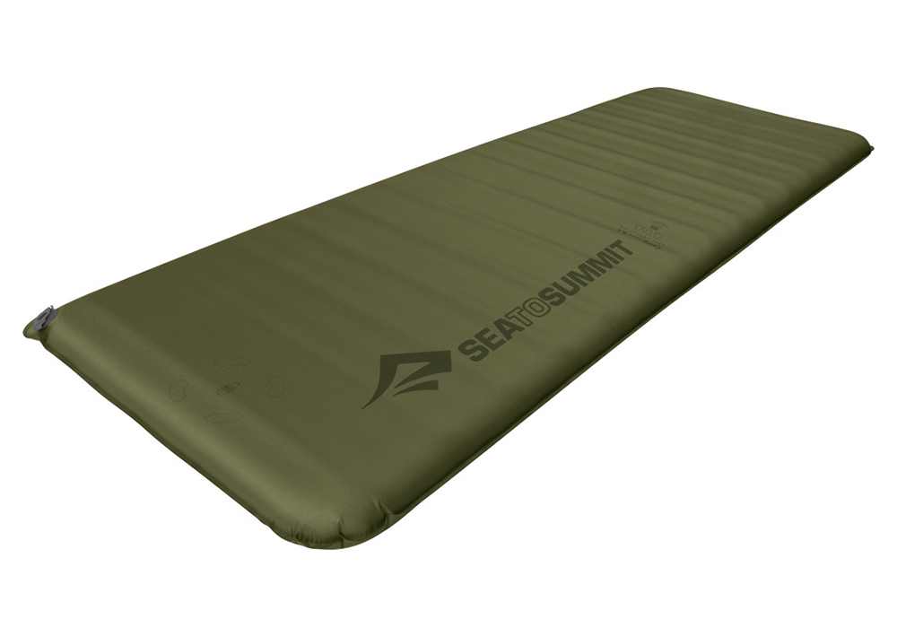 Самонадуваема постелка 7.5 см Sea to Summit Camp Plus SI Mat Rectangular Regular Wide 2021