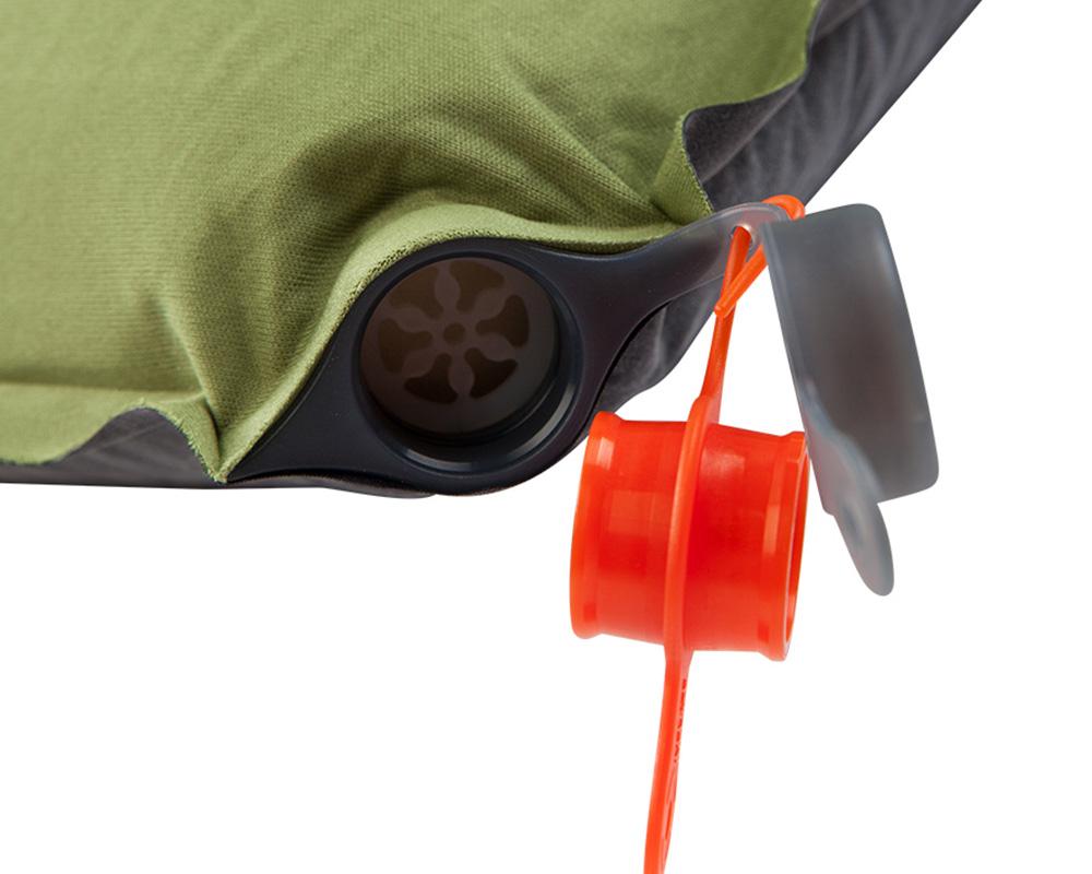 Вентил на екстра голяма самонадуваема постелка легло Nomad Ultimate XW 10.0 см 2018