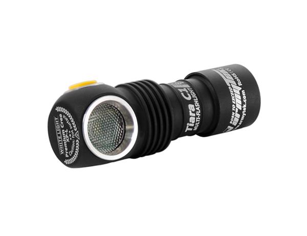 Мини прожектор-челник Armytek Tiara C1 Pro Magnet USB White 980LM 2020