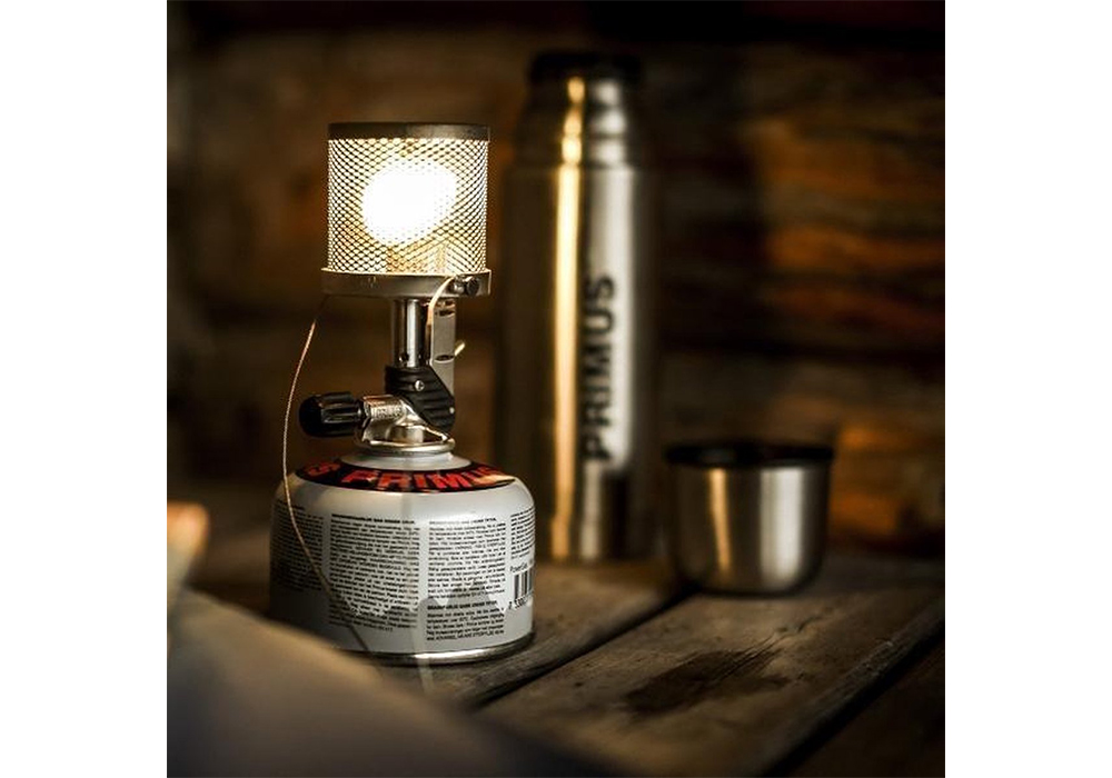 По тъмно с газов фенер Primus Micron Lantern 2021