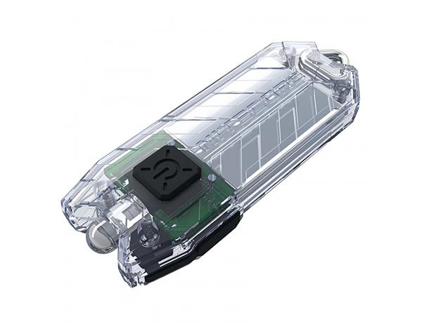 Nitecore Tube V2.0 55LM Transparent Rechargeable Keychain Flashlight 2021