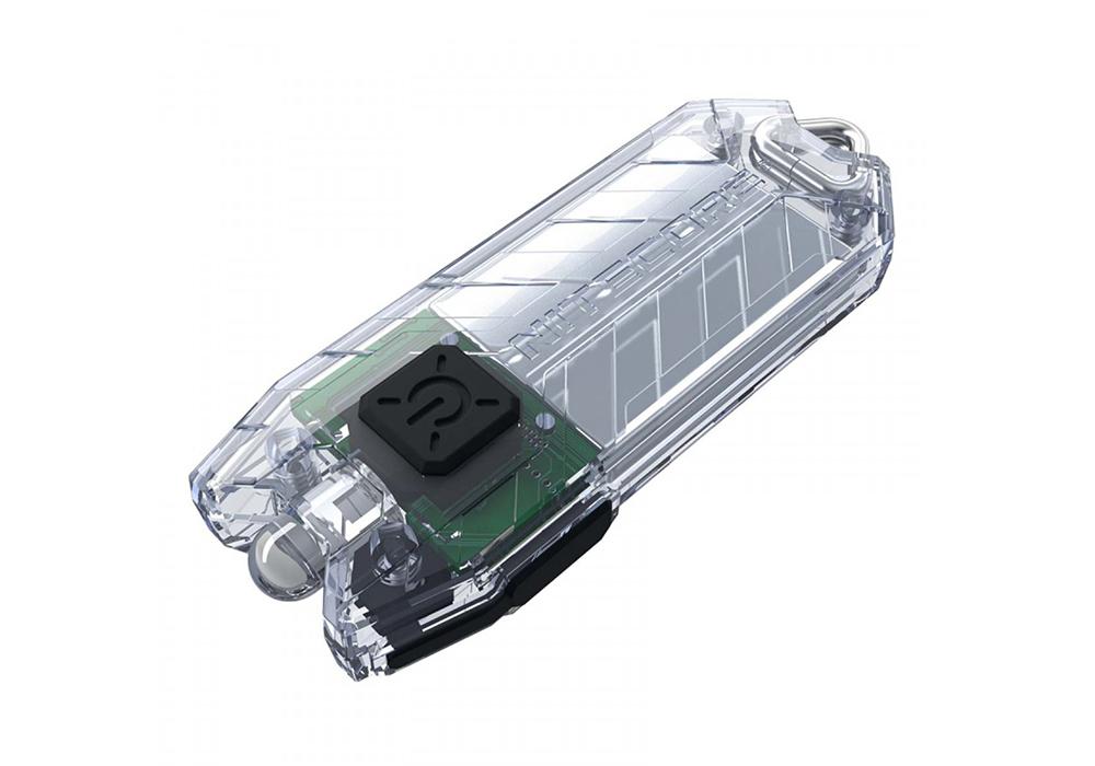 Мини LED фенерче със зарядна батерия Nitecore Tube V2.0 55LM Transparent 2021