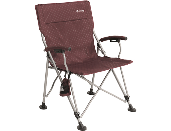 Outwell Campo XL Foldable Camping Chair Claret 2019