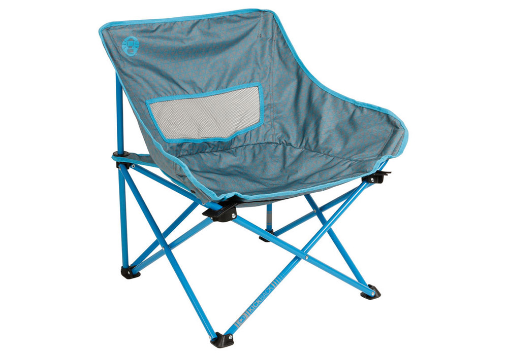 Сгъваем плажен стол Coleman Kickback Breeze Blue 2019