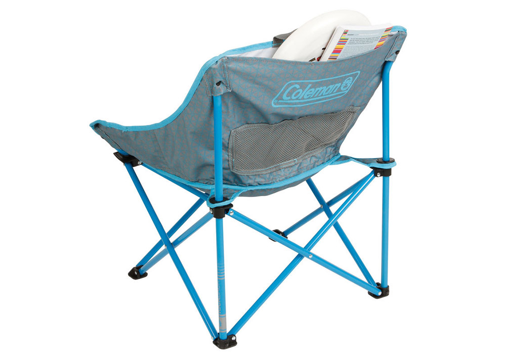 Гръб на сгъваем плажен стол Coleman Kickback Breeze Blue 2019