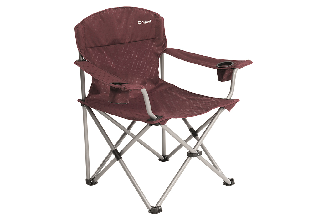 Сгъваем стол Outwell Catamarca Arm Chair XL Claret 2019