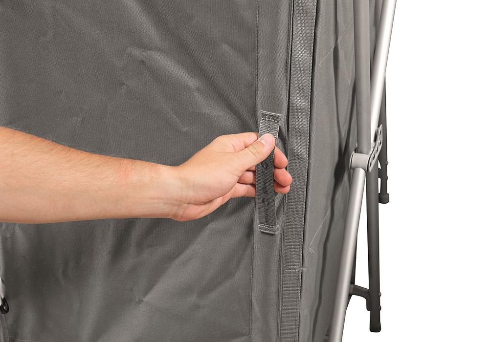Вратичка на нисък сгъваем къмпинг шкаф Outwell Larga