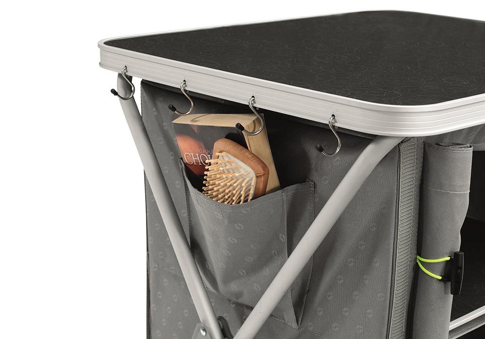 Плот на нисък сгъваем къмпинг шкаф Outwell Larga