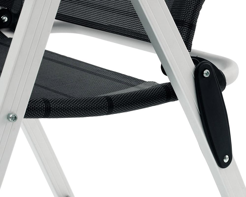 Сгъваем къмпинг стол Outwell Milton алуминиева конструкция детайли