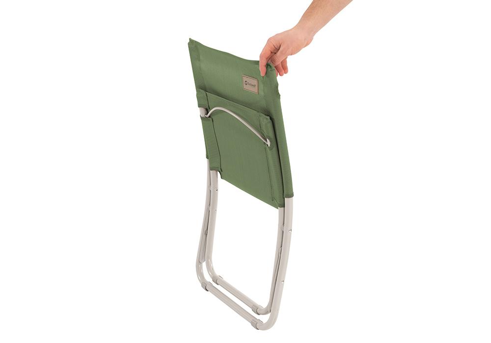 Сгънат плажен стол Outwell Sauntons Green Vineyard 2020