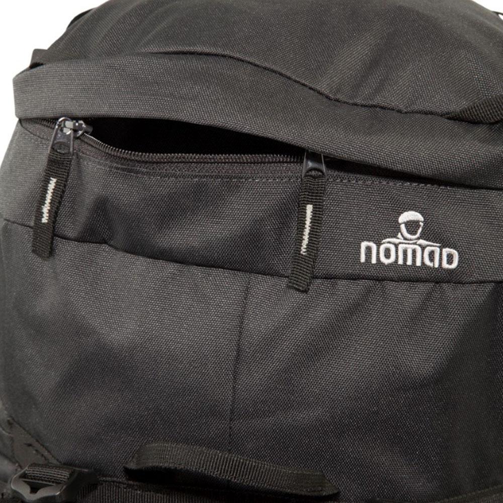 Капак с ципове на туристическа раница Nomad Batura