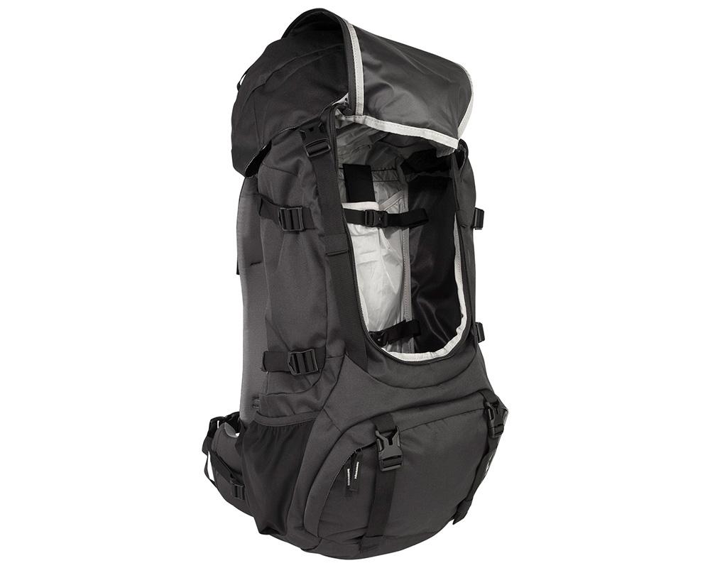 Отваряне отпред на капак туристическа раница Nomad Batura 55L Woman's Fit Allround Backpack