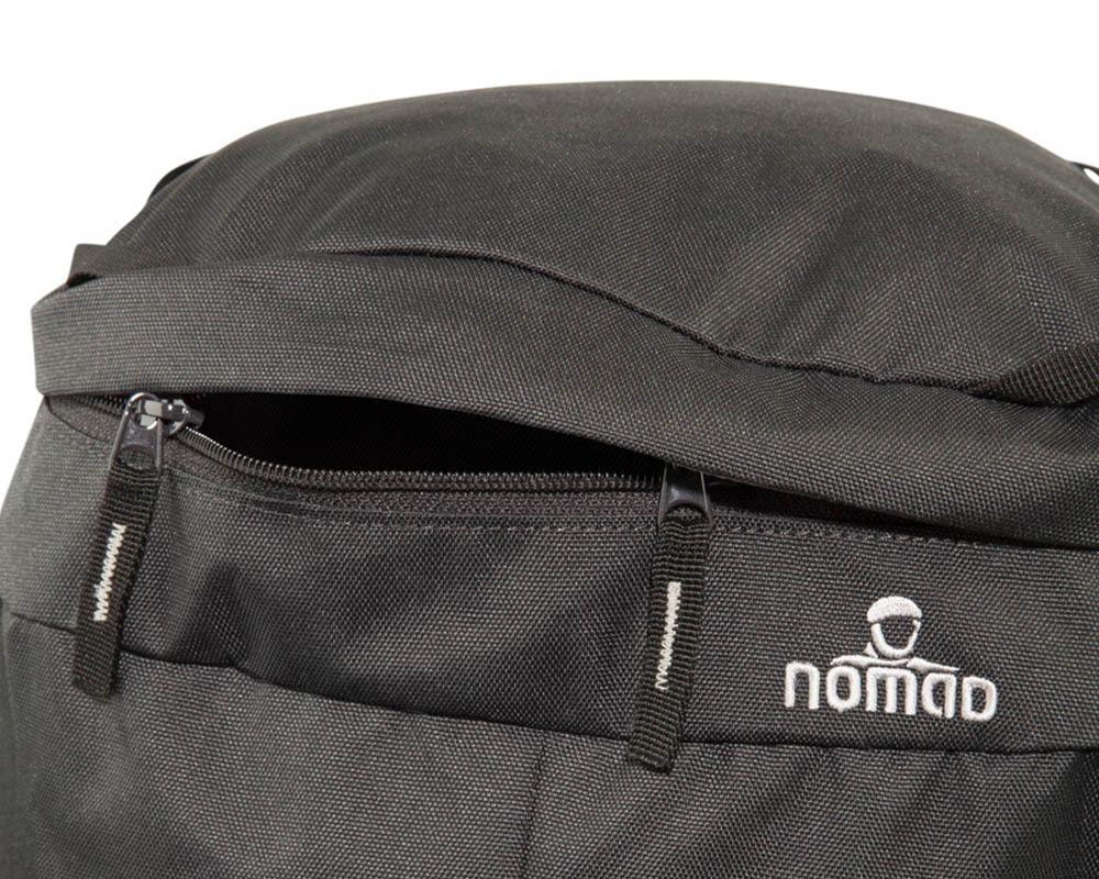 Капак с ципове на туристическа раница Nomad Batura 55L Woman's Fit Allround Backpack