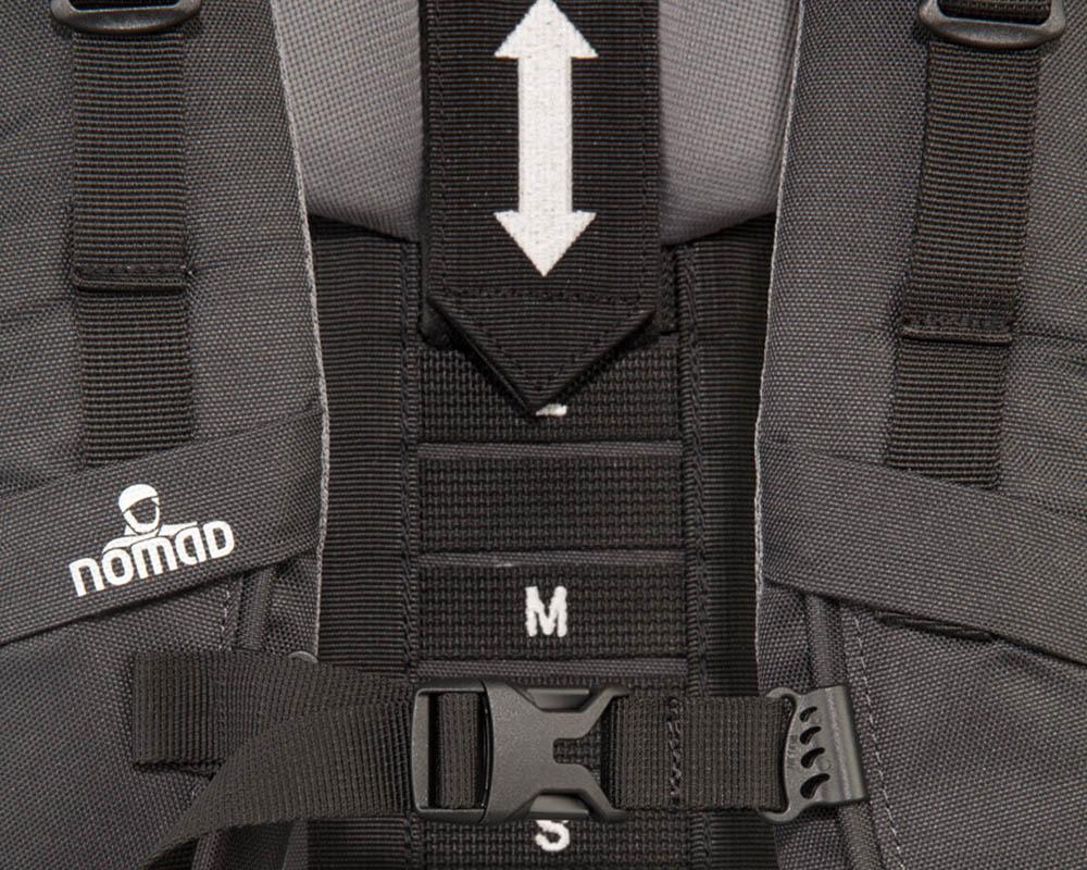 Носеща система на туристическа раница Nomad Batura 55L Woman's Fit Allround Backpack