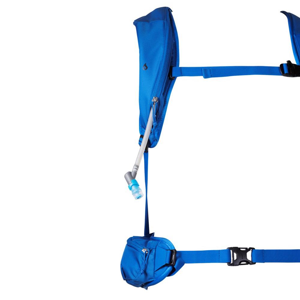 Възможност за хидратираща система ски на раница за ски Bergans Slingsby 34L Athens Blue