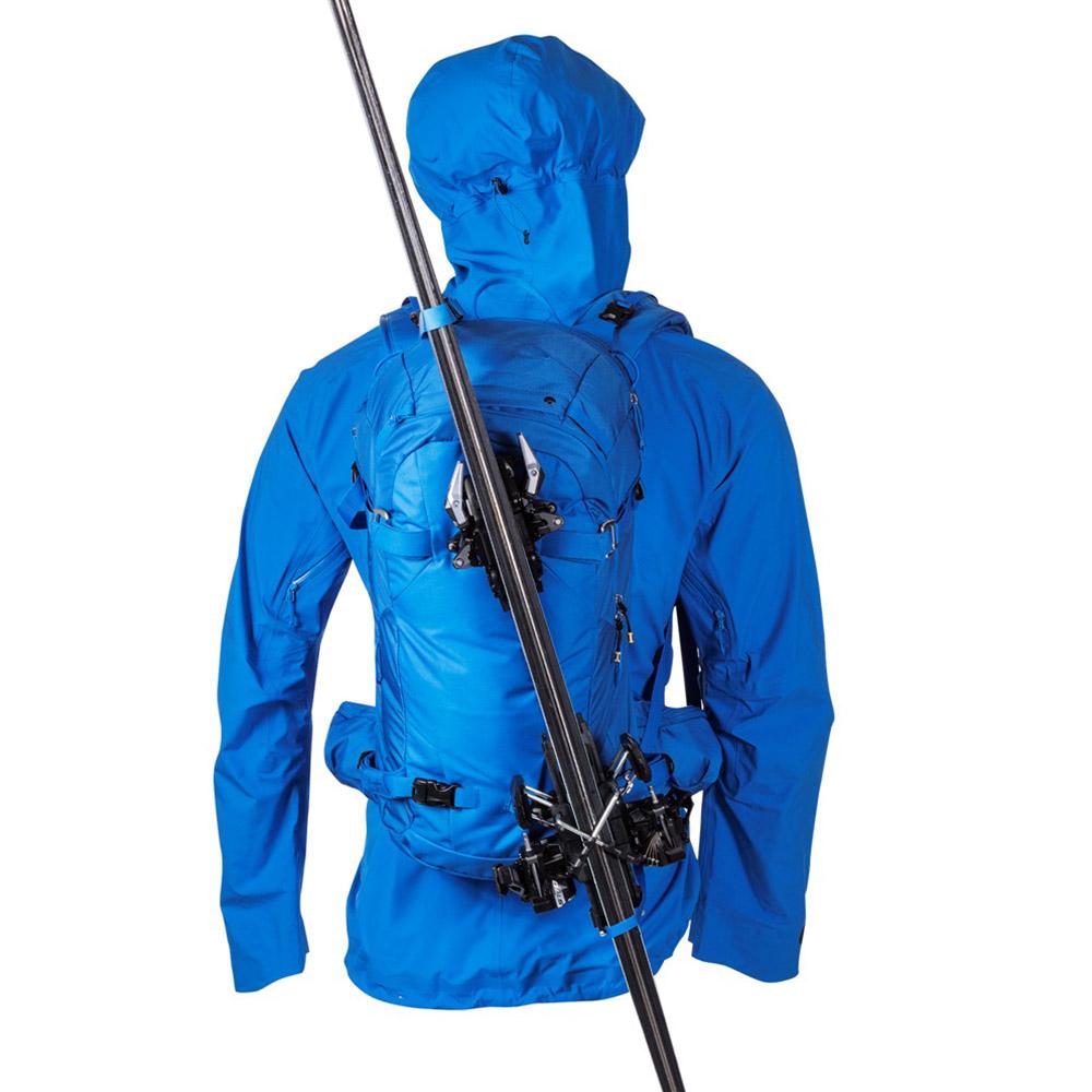 Ски на раница за ски Bergans Slingsby 34L Athens Blue