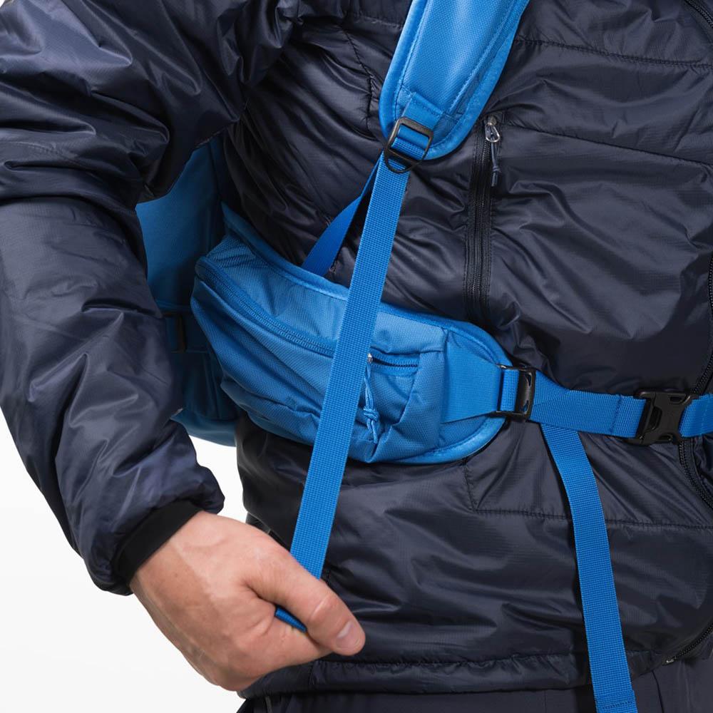 Кръстен колан и презрамки на Ски на раница за ски Bergans Slingsby 34L Athens Blue