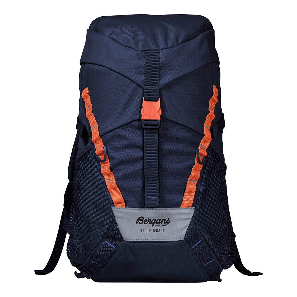 Детска туристическа раница Bergans Lilletind 12 Navy / Bright Magma 2020