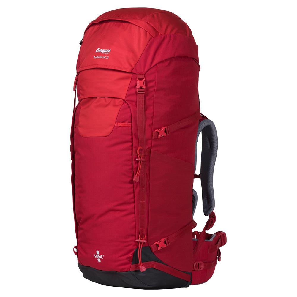 Туристическа раница Bergans Trollhetta V5 W 75 Fire Red 2020