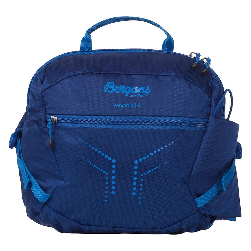 Лице на чантa за кръст Bergans Vengetind Hip Pack 6 Dark Royal Blue 2020