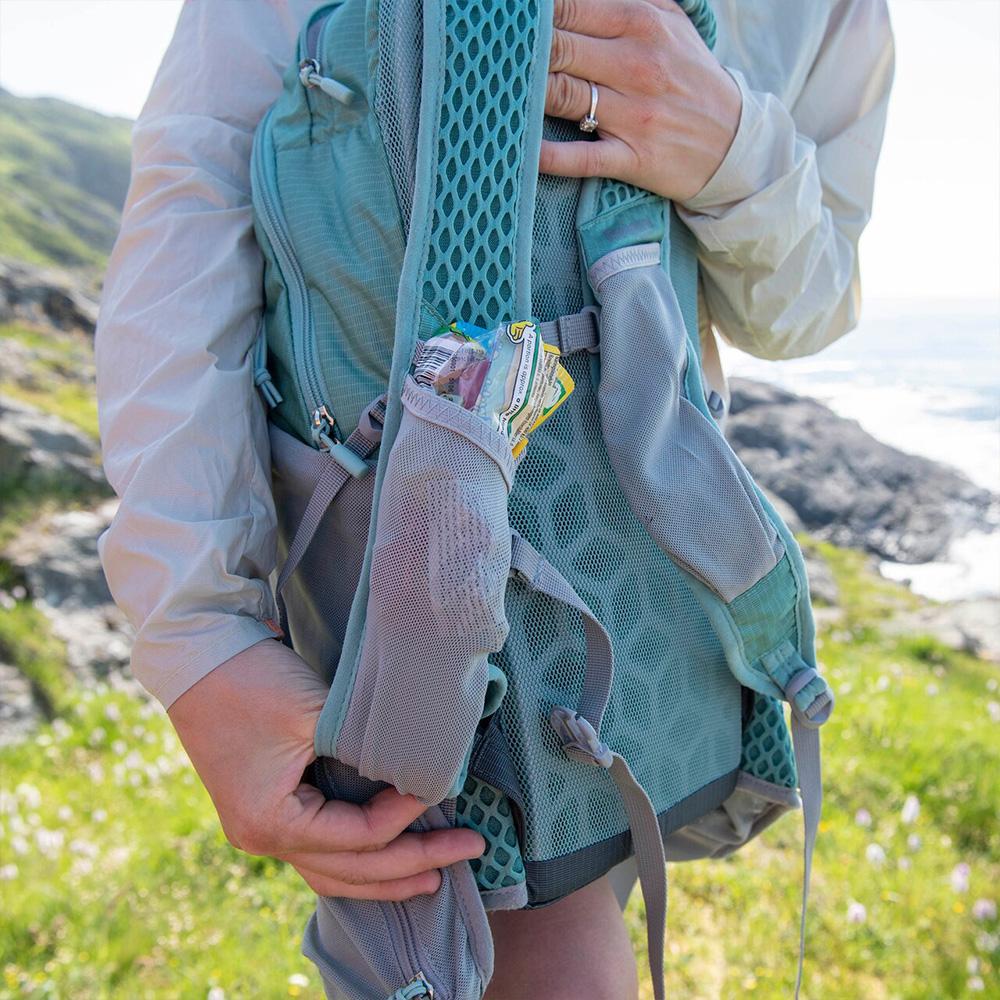 Shoulder strap pocket Bergans Driv W 12 Light Forest Frost / Solid Light Grey 2021