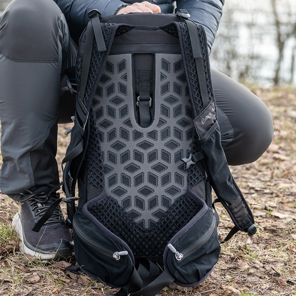 Back Bergans Backpack Driv 24 Black