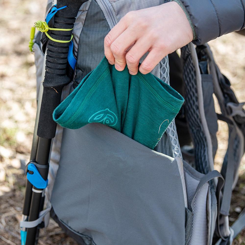 Elastic pocket Bergans Backpack Driv 24 Solid Light Grey 2021