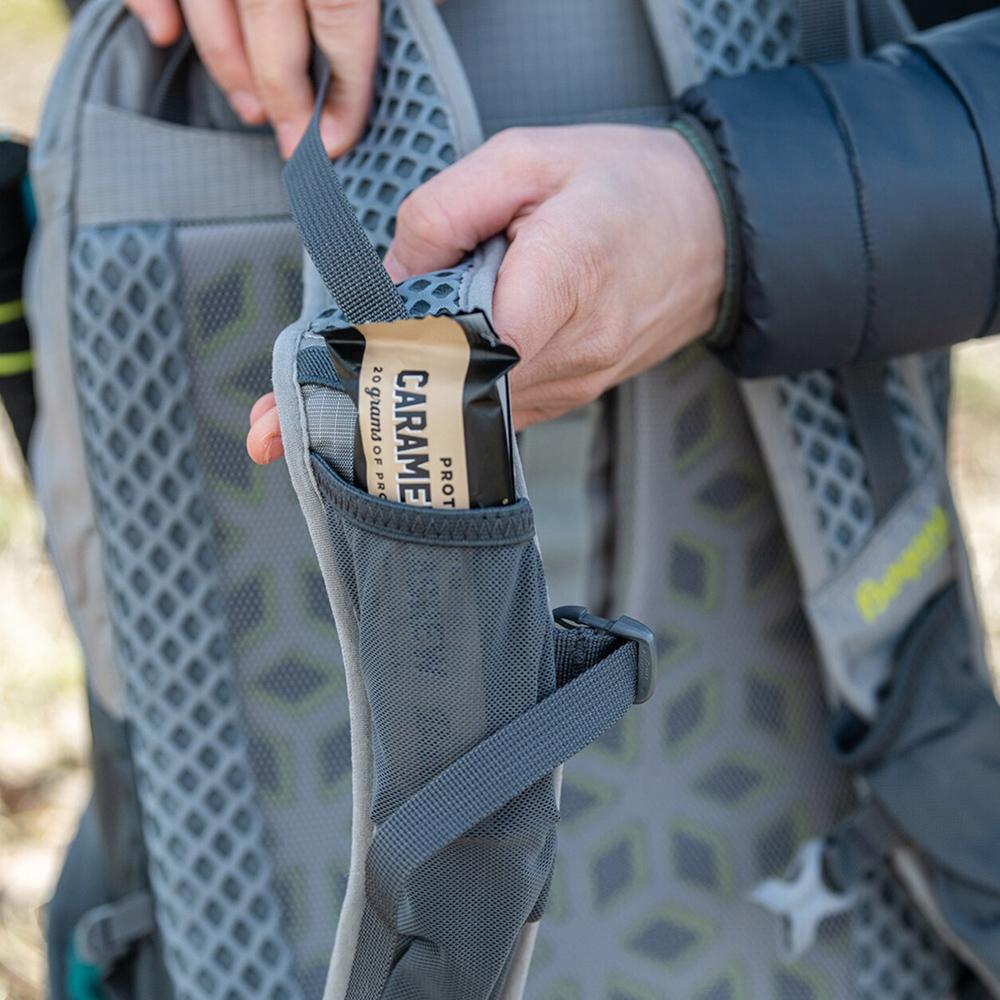 Elastic pocket shoulder straps Bergans Driv 24 Solid Light Grey 2021