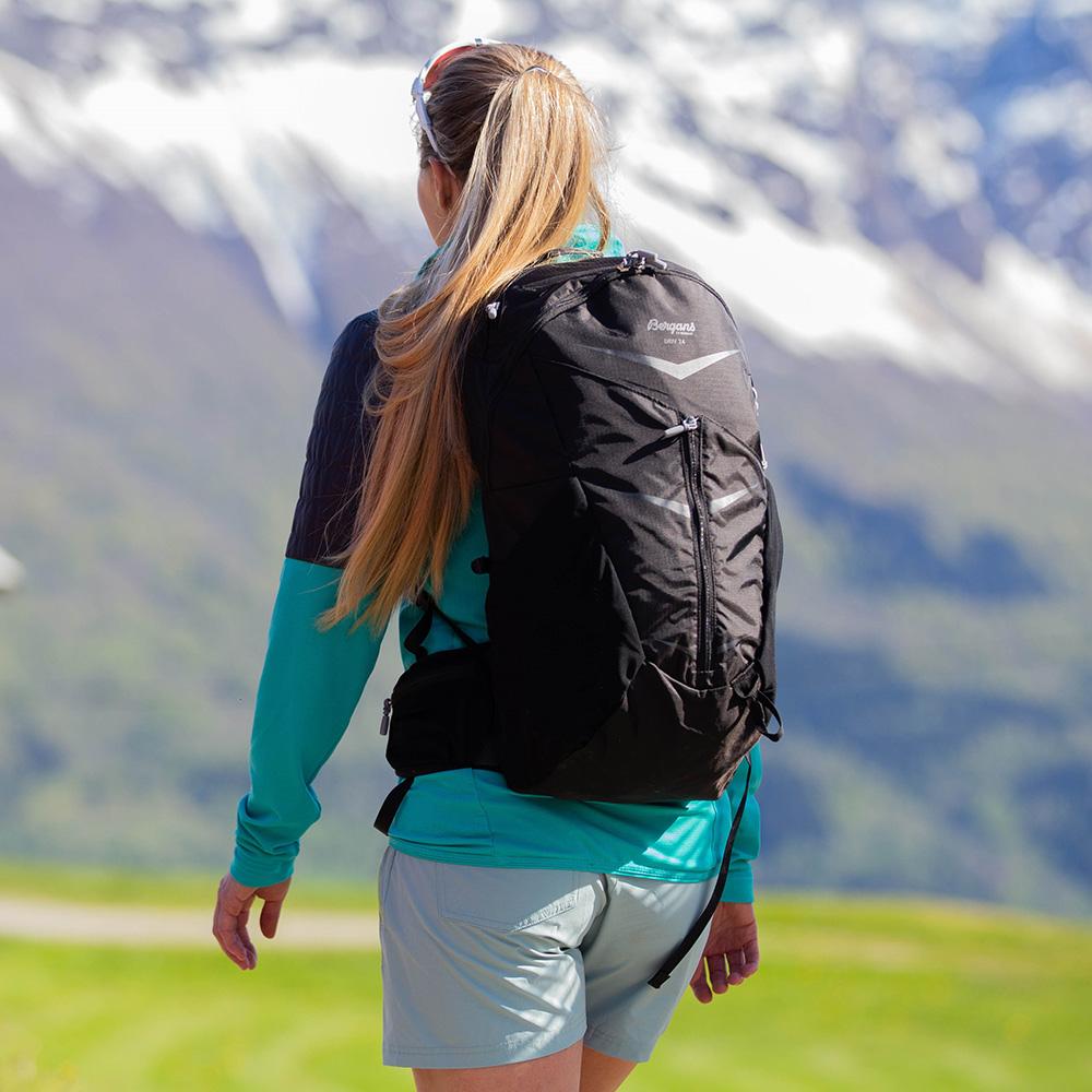 On your back Bergans Backpack Driv 24 Black